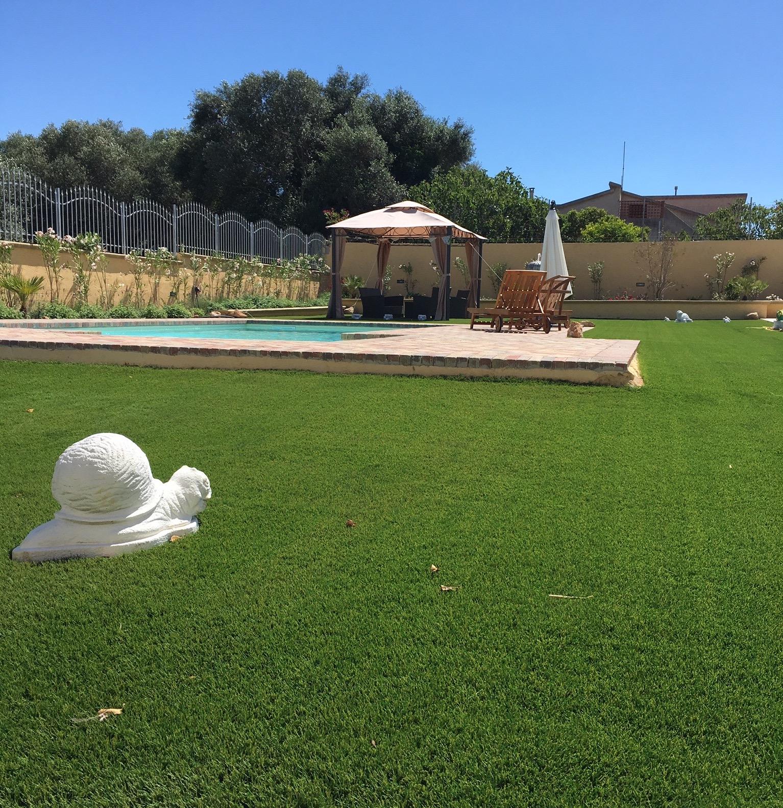 La nostra bellissima erba sintetica