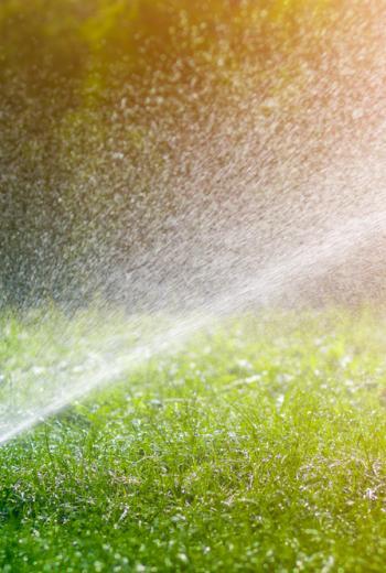 irrigazione prato naturale